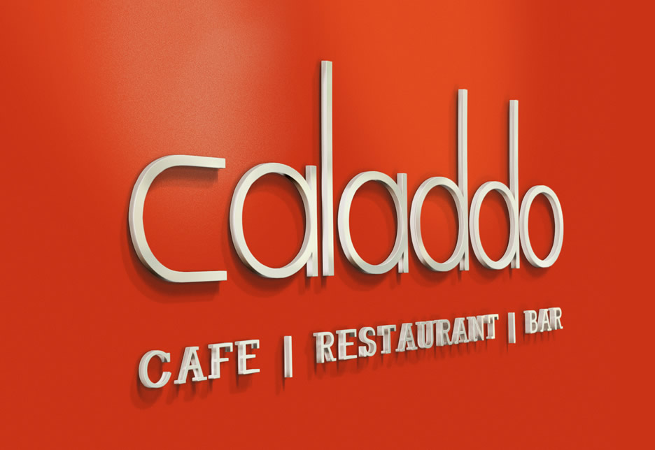 Naming and Branding Design for Caladdo Restaurant