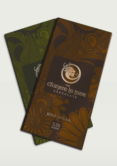 Product Branding and Packaging Design for Chimera La Torre Coffe and Chocolate
