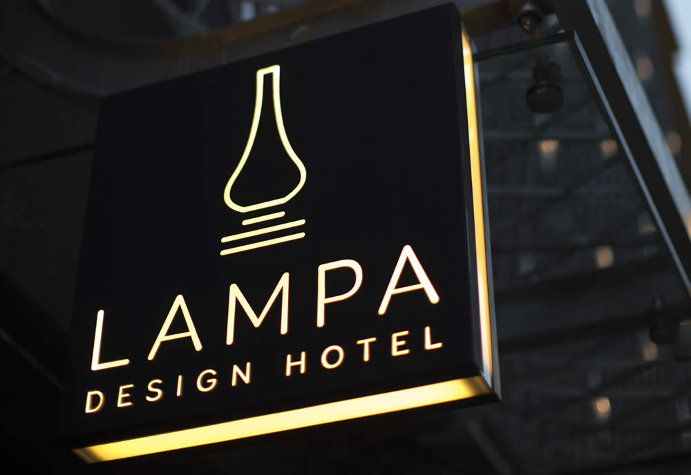 Branding Project for Lampa Design Hotel